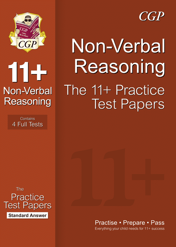 CGP 11+ Non-Verbal Reasoning Practice Papers: Standard Answers (for GL &  Other Test Providers)